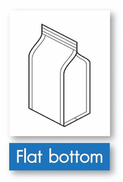 รูป flat bottom - ประกอบเนื้อหา บรรจุภัณฑ์อ่อนตัว