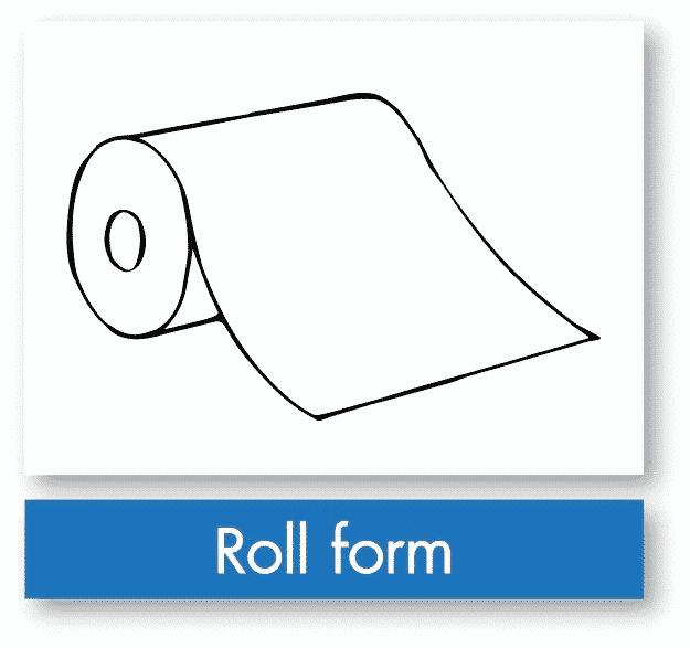 รูป roll form - ประกอบเนื้อหา บรรจุภัณฑ์อ่อนตัว