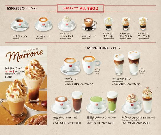 รูป coffee menu 17 - ประกอบเนื้อหา พาชม 10 ตัวอย่างงานออกแบบ และดีไซน์ เมนูร้านกาแฟ