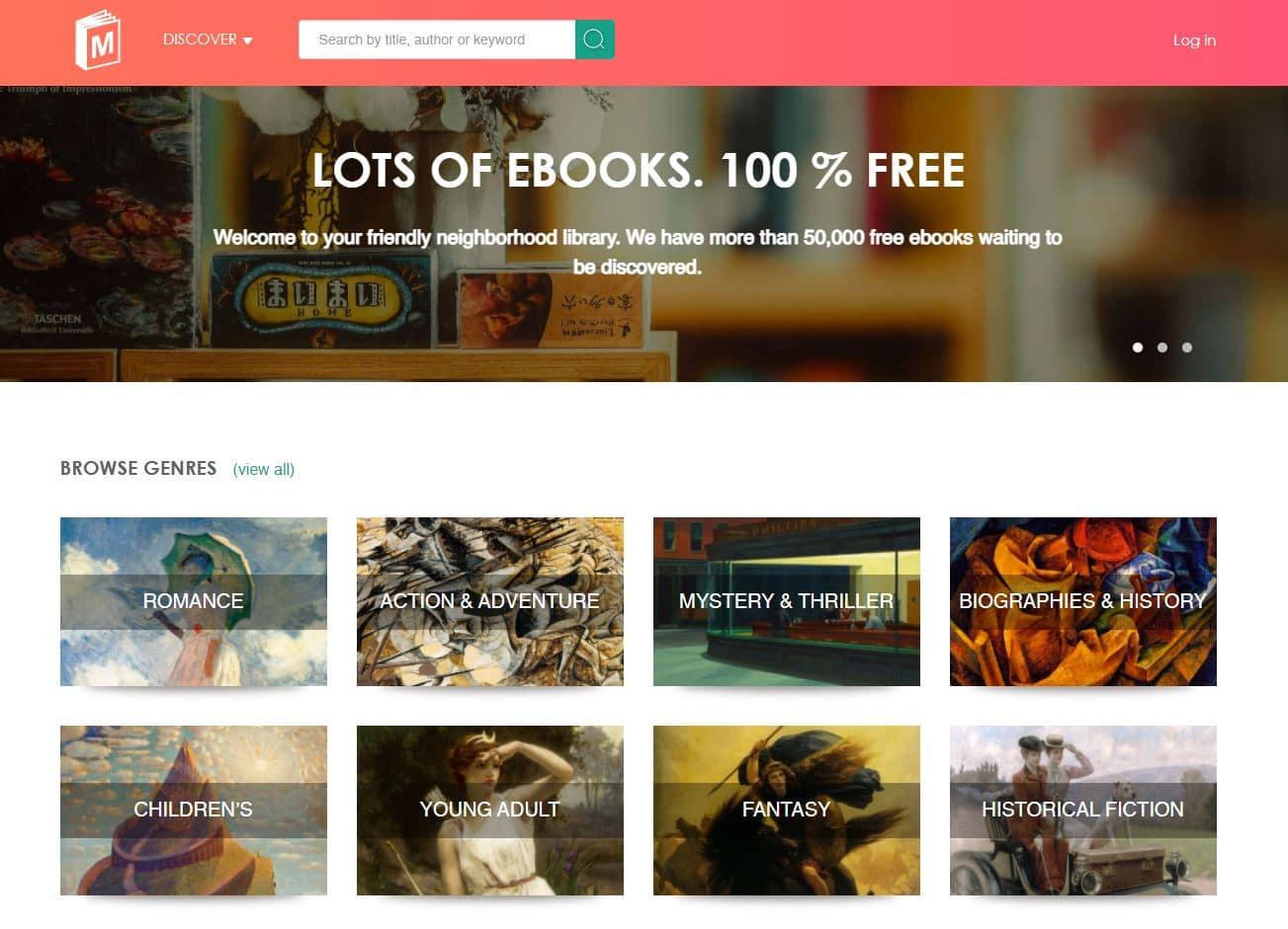 รูป e book 02 - ประกอบเนื้อหา แนะนำ 6 เว็บไซต์สำหรับคนชอบอ่าน ที่เปิดให้อ่านหนังสือฟรี