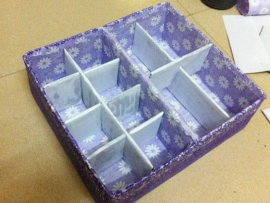 รูป box 3 e1613357676803 - ประกอบเนื้อหา ไอเดีย DIY ทำกล่องเก็บเครื่องสำอางไม่ต้องซื้อให้เสียเงิน